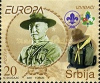 [EUROPA Stamps - The 100th Anniversary of Scouting, type BS]