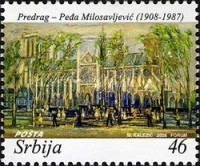 [The 100th Anniversary of the Birth of Predrag Pedja Milisavljevic, 1908-1987, type DE]