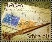 [EUROPA Stamps - Writing Letters, type DV]