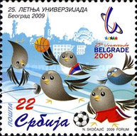 [The 25th Summer Universiade - Belgrade 2009, type FM]