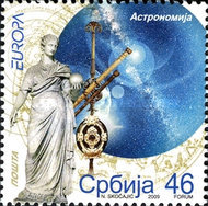 [EUROPA Stamps - Astronomy, type FR]