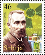[The 150th Anniversary of the Birth of Pierre Curie, 1859-1906, type GJ]