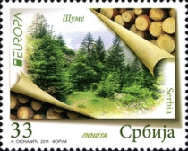 [EUROPA Stamps - The Forest, type JQ]