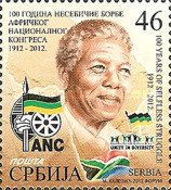 [The 100th Anniversary of the ANC - African National Congress, type LE]
