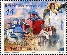 [EUROPA Stamps - Visit Serbia, type LT]