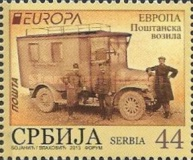 [EUROPA Stamps - Postal Vehicles, type NH]