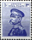 [King Peter I - New Colors. See Also No.94-105, type O21]