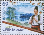 [EUROPA Stamps - Musical Instruments, type PF]