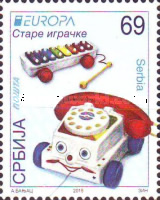 [EUROPA Stamps - Old Toys, type RE]