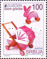 [EUROPA Stamps - Old Toys, type RF]
