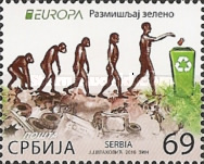 [EUROPA Stamps - Think Green, type TS]