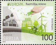 [EUROPA Stamps - Think Green, type TT]