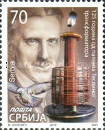 [The 125th Anniversary of the Patent of Tesla's Transformer, type UC]