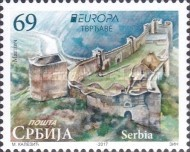 [EUROPA Stamps -  Palaces and Castles, type WH]