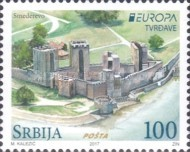 [EUROPA Stamps -  Palaces and Castles, type WI]