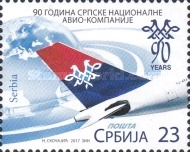 [The 90th Anniversary of the Serbian National Airline, type WQ]