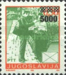 [Definitive Issues. Yugoslavia Stamps Overprinted, type F1]