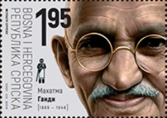[The 150th Anniversary of the Birth of Mahatma Gandhi, 1869-1948, Typ APA]