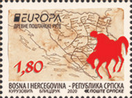 [EUROPA Stamps - Ancient Postal Routes, type APN]