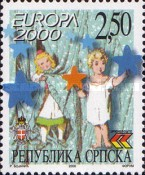 [EUROPA Stamps - Tower of 6 Stars, type ES]
