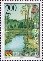 [EUROPA Stamps - Water, Treasure of Nature, Typ FZ]