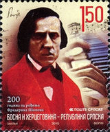 [The 200th Anniversary of the Birth of Frederic Chopin, type QW]