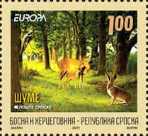 [EUROPA Stamps - International Year of Forests, type SE]