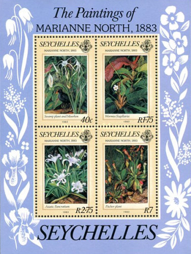 [The 100th Anniversary of Visit to Seychelles by Marianne North, Botanic Artist, Typ ]