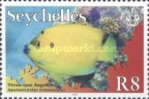 "[Marine Life Definitives - Year ""2012"" on Stamps, type ABZ1]"