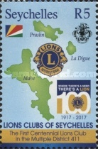 [The 100th Anniversary of Lions Clubs International, type ACK]