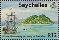 [The 250th Anniversary of the First French Settlement in Seychelles, type ACM]