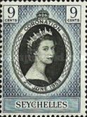 [Coronation of Queen Elizabeth II, type AJ]