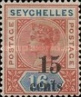 [Issues of 1890 Surcharged, Typ B2]