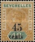 [Issues of 1890 Surcharged, type B3]