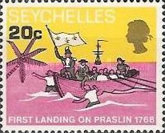 [The 200th Anniversary of First Landing on Praslin, type CM]