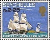 [The 200th Anniversary of First Landing on Praslin, type CP]