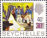 [Previous Stamps Surcharged, type EG]