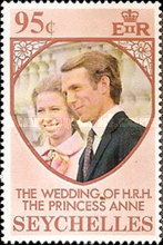 [Royal Wedding of Princess Anne and Mark Phillips, type FA]