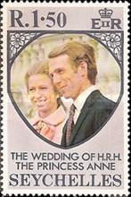[Royal Wedding of Princess Anne and Mark Phillips, type FA1]