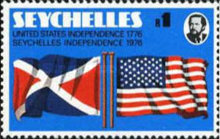 [The 200th Anniversary of Seychelles Independence and American Independence, Typ GK]