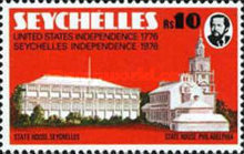 [The 200th Anniversary of Seychelles Independence and American Independence, Typ GL]