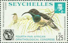 [The 4th Pan-African Ornithological Congress, Seychelles, type GR]