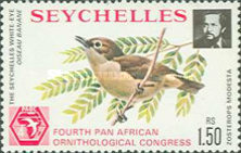 [The 4th Pan-African Ornithological Congress, Seychelles, type GS]