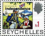 [Independence - Issues of 1969 Overprinted