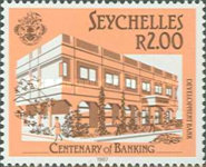 [The 100th Anniversary of Banking in Seychelles, Typ RC]