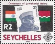 [The 100th Anniversary of the Birth of Jawaharlal Nehru, Indian Statesman, 1889-1964, Typ SS]