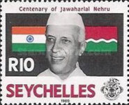 [The 100th Anniversary of the Birth of Jawaharlal Nehru, Indian Statesman, 1889-1964, Typ ST]
