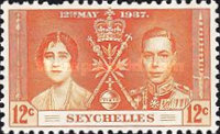 [Coronation of King George VI and Queen Elizabeth, Typ T1]