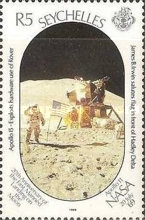 [The 20th Anniversary of First Manned Landing on Moon, Typ TB]