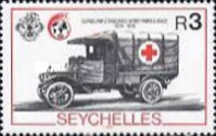 [The 125th Anniversary of International Red Cross, Typ TF]